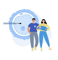 human fertility concept vector image