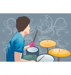 music man vector image