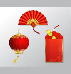 red envelope packet vector image