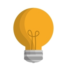Regular lightbulb icon image vector