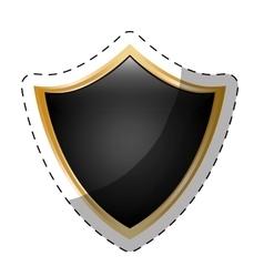 shield security icon image vector image