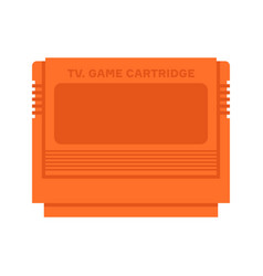 tv game cartridge vector image