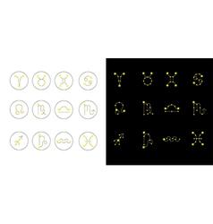 Zodiac out 3 vector