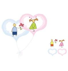 valentines romance vector image vector image