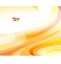 Yellow Wave background Eps 10 vector image