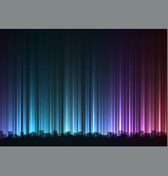 dark rainbow abstract bar line background vector image
