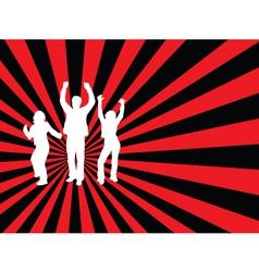 everybody dance vector image vector image