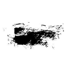 grunge brush stroke ink vector image