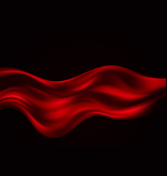abstract background luxury red cloth vector image