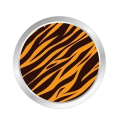 animal print style background vector image