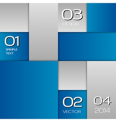 Business squares blue full page with text vector