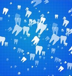Dental health background vector