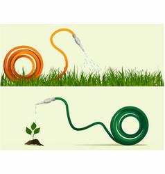 Garden hose vector