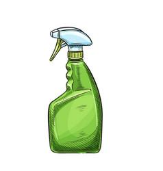 Garden sprayer bottle aerosol vector
