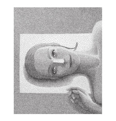 Getting a tan halftone vector