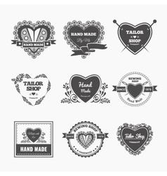 Handmade logo vector