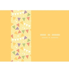 Party Decorations Bunting Horizontal Seamless vector image