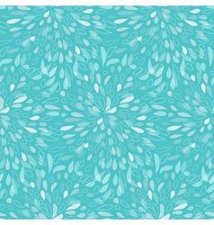 Seamless splattered fireworks pattern in blue vector image