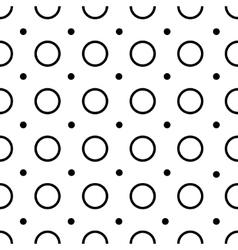 Polka-dot seamless pattern vector