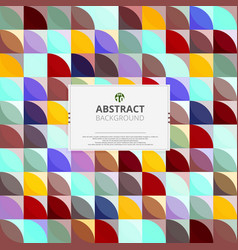 abstraction of modern colorful pattern background vector image