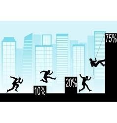 Conceptual of business topics vector