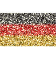 germany sparkling flag vector image