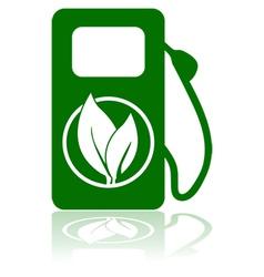 Green fuel vector image