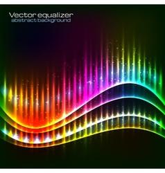 Neon equalizer wave vector