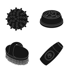 The ball feed shampoo and other zoo store vector