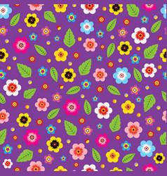 flowers purple vector image vector image