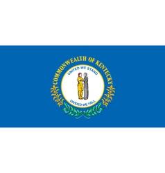 Kentucky Flag vector image vector image