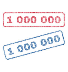 1 000 000 textile stamps vector