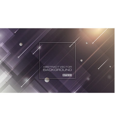 abstract geometric shapes on gradient background vector image