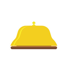 Bell service icon hotel reception concierge sign vector