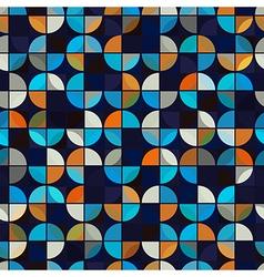 Futuristic colorful geometric background bright vector