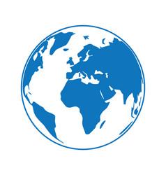 globe earth 09 vector image