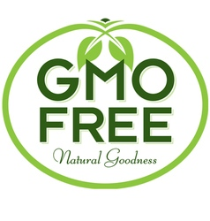 GMO Free Natural Goodness vector