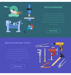 Metalworking concept vector