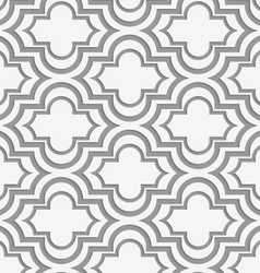 Perforated horizontal offset Marakech vector image