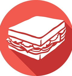 Sandwhich Icon vector image