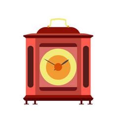 clock mechanism watch mechanical gears metal time vector image vector image
