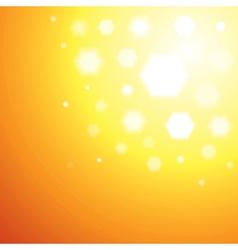 Abstract orange sun light background vector