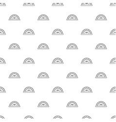 bread oven pattern seamless vector image