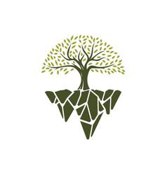 fantasy tree vector image