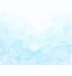 ice geometric wallpaper vector image