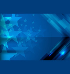 american template design vector image