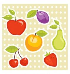 gym sticker vector image vector image