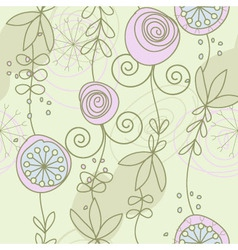 pactel color pattern vector image vector image