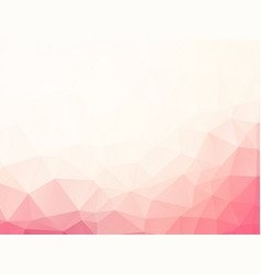 Abstract soft pink geometric background vector