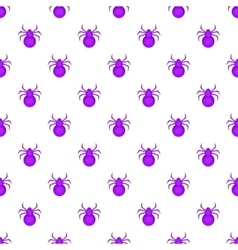 Bug pattern cartoon style vector